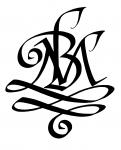 """MB"" family monogram"